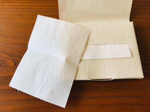 無印良品 紙おしろいの使い方