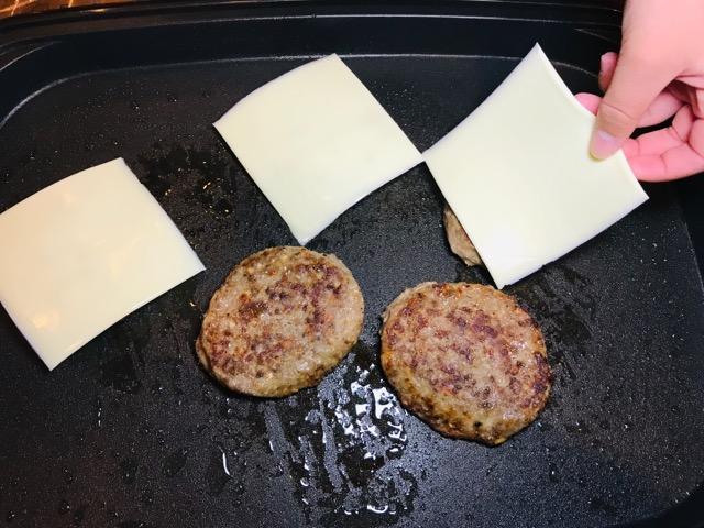ハンバーガー作り方4