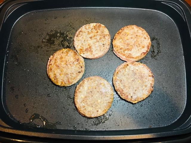 ハンバーガー作り方3