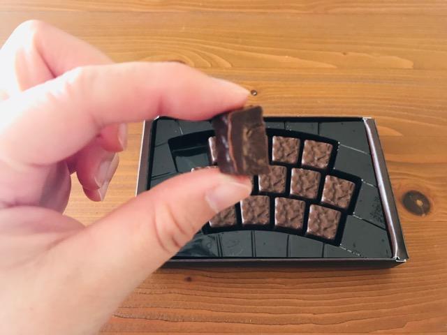六花亭 セミスィート生チョコレート大地