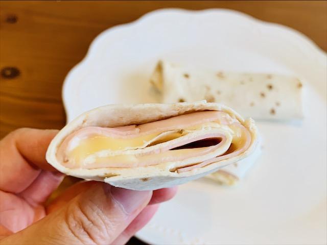 カルディーのトルティーヤで作るブリトーのレシピ