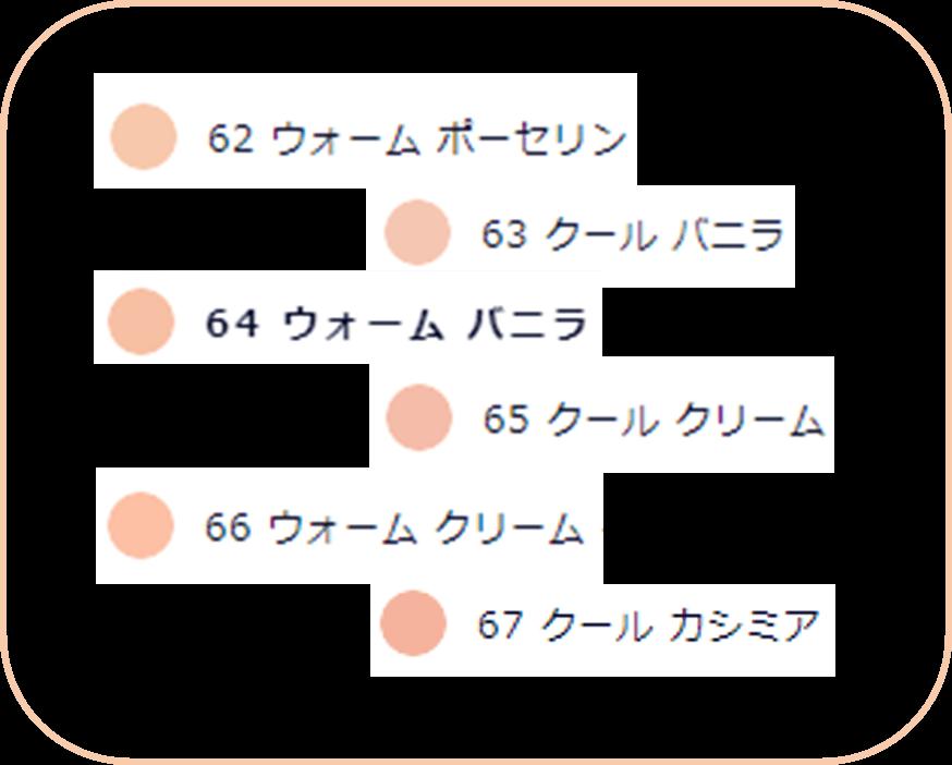 エスティローダー ダブルウェア パウダーファンデーション 色選び