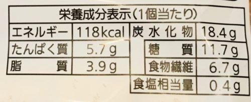 パスコ低糖質のブレッドブラン カロリー