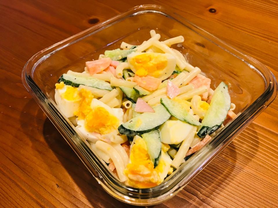 マカロニサラダの画像