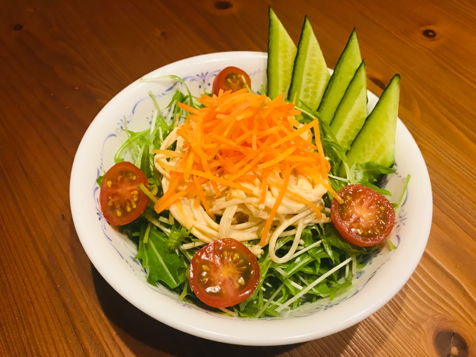サラダスパゲティの画像