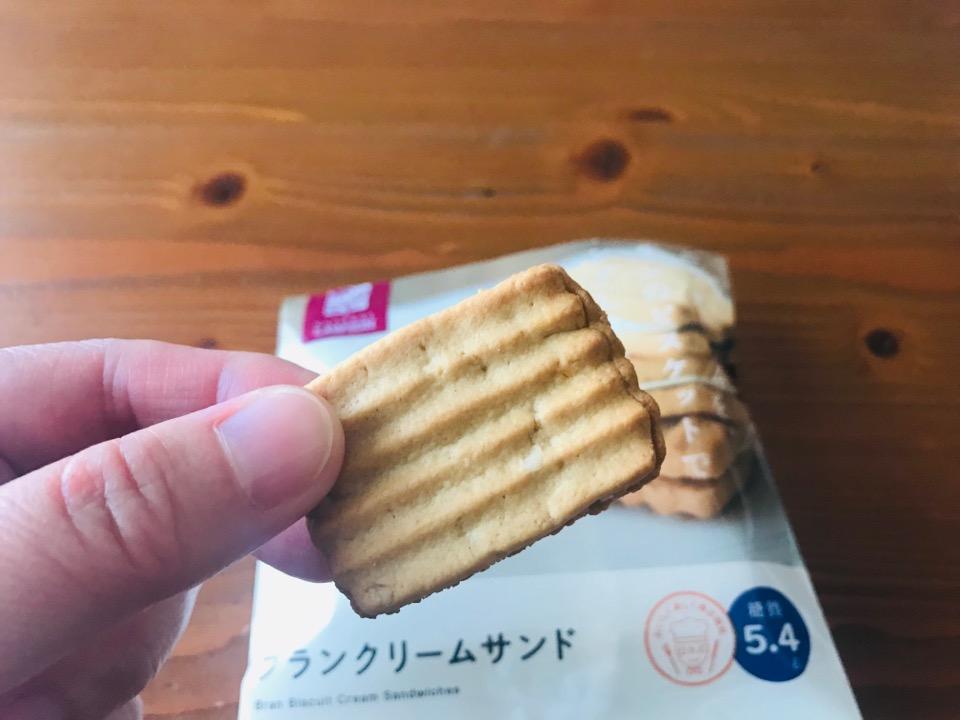 ローソンロカボお菓子 ブランクリームサンド