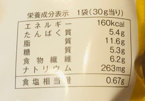 ローソンロカボお菓子 北海道産チーズを使ったこんがりラスク カロリー