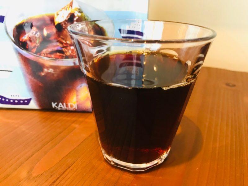 カルディ水出しコーヒーブラック