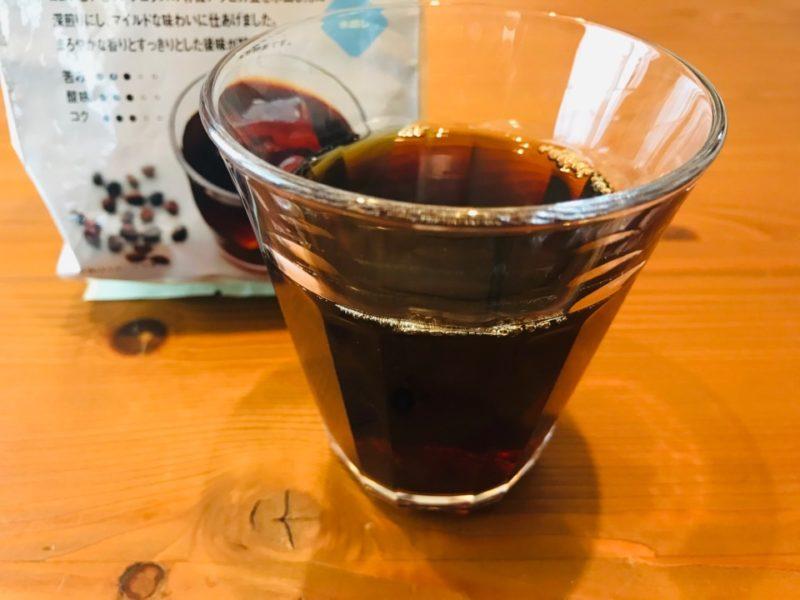 無印良品 水出しオーガニックコーヒー飲んでみた感想【口コミ】