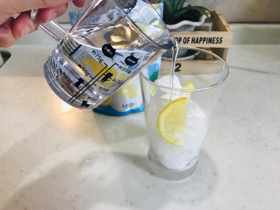 レモンソーダ作り方2