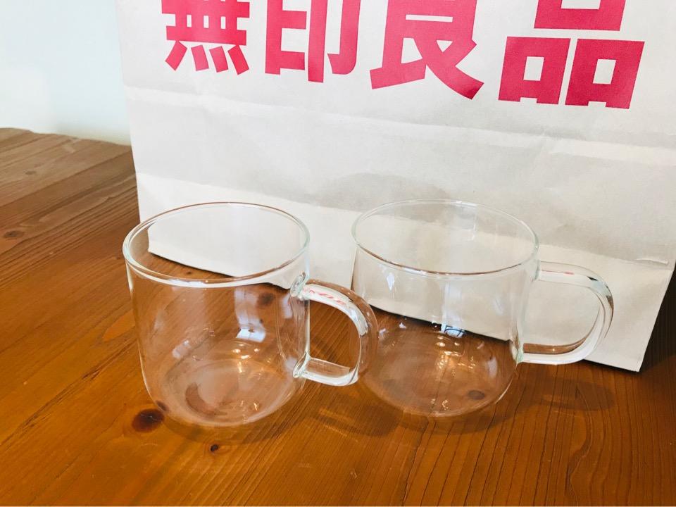 無印良品 耐熱マグカップ