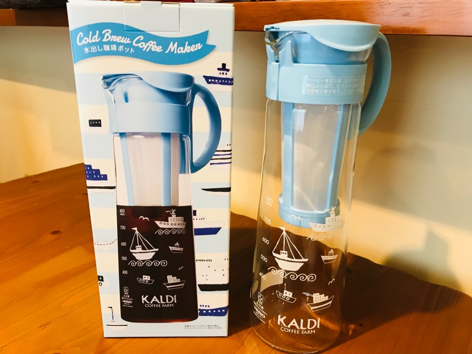 カルディ 水出しコーヒーポット