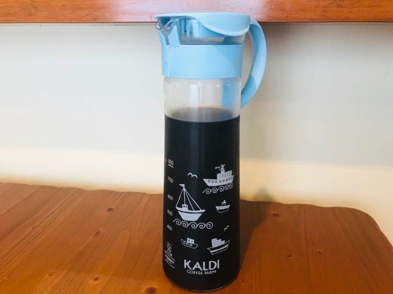 カルディ 水出しコーヒーの作り方