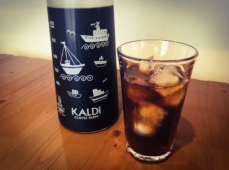 カルディ 水出しコーヒーの完成