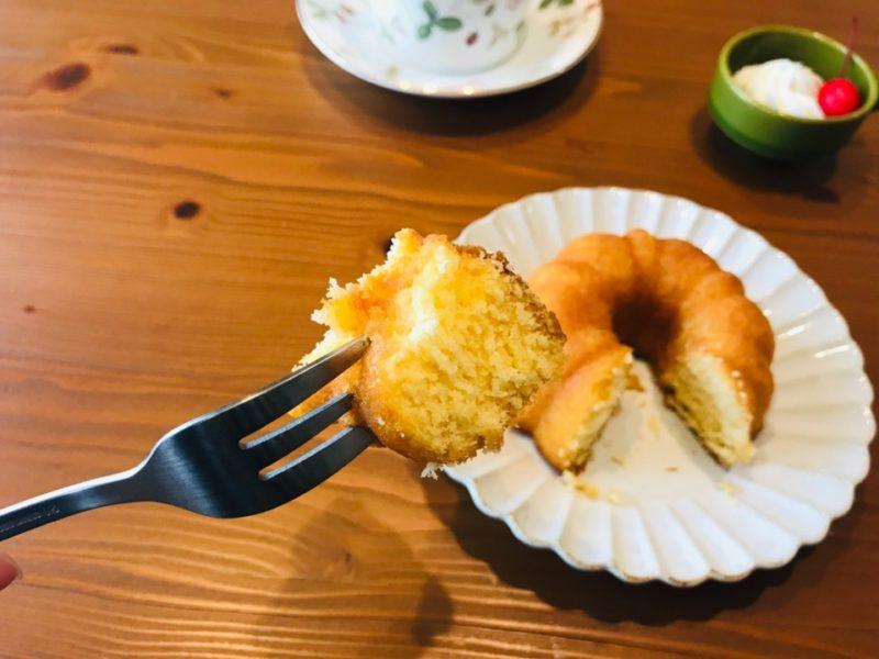 レモンリングケーキ一口大