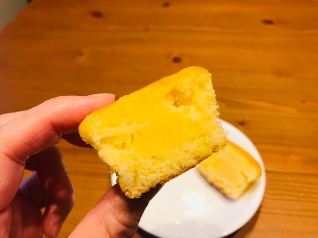 レモンケーキを食べてみました