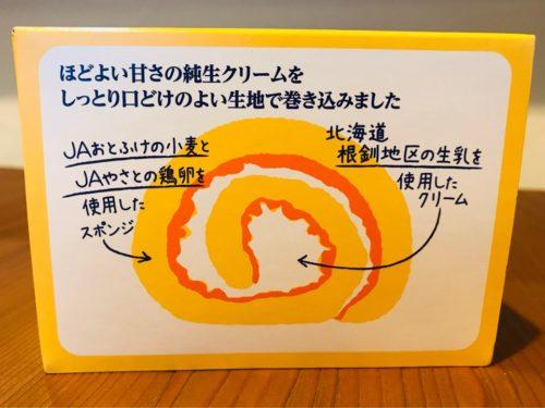 パルシステムロールケーキの説明文