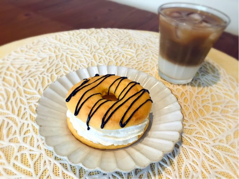 パルシステム焼きドーナツとコーヒー