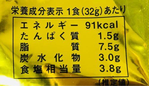 香ばし炒飯の素のカロリー表示