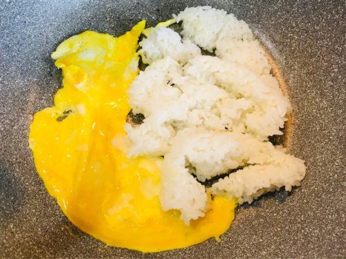 炒飯の作り方1