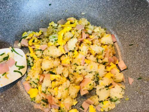 炒飯の作り方2
