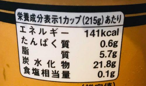 タピオカ黒糖ミルクティーのカロリー表