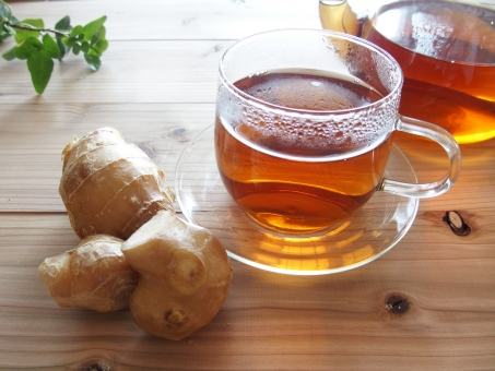しょうが紅茶の画像