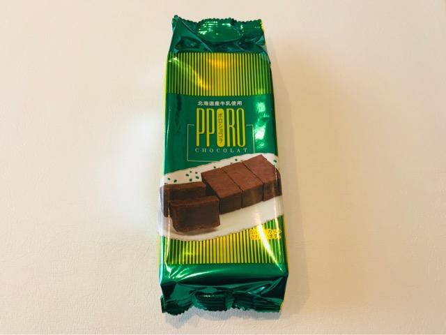 ポロショコラのパッケージ