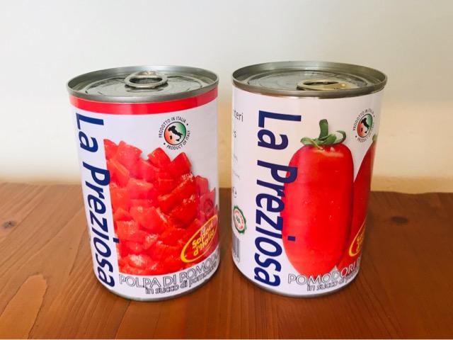 ラ・プレッツィオーザ【ダイズ・ホール】トマト缶