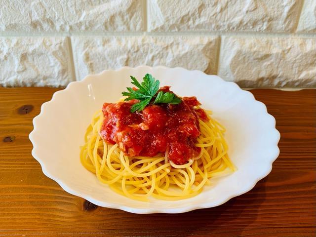 カルディ トマト缶 冷製パスタ