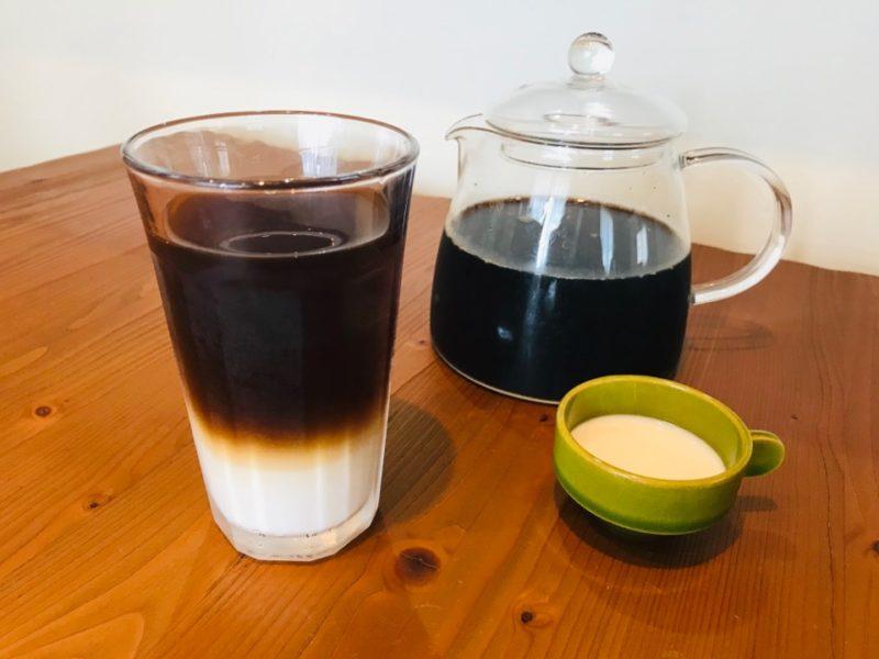 アイスコーヒー アレンジレシピ アイスカフェオレ