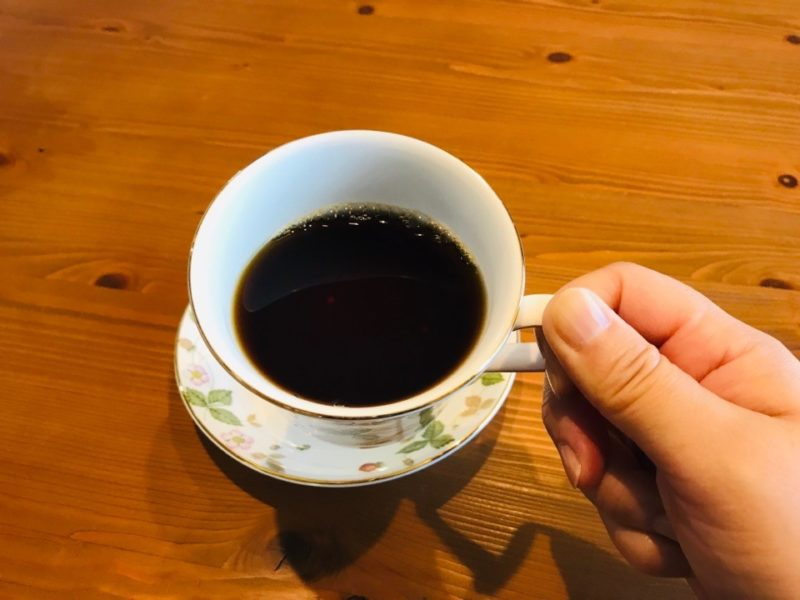 モカフレンチ ホットコーヒー