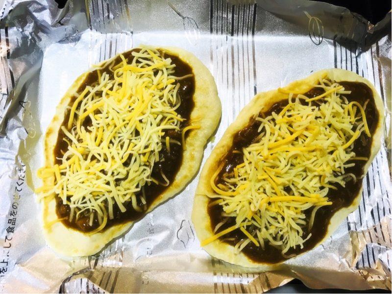 キーマカレーピザの作り方
