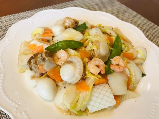パルシステム お料理セット 海鮮八宝菜