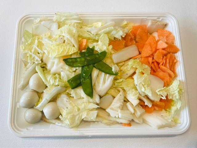 八宝菜の材料