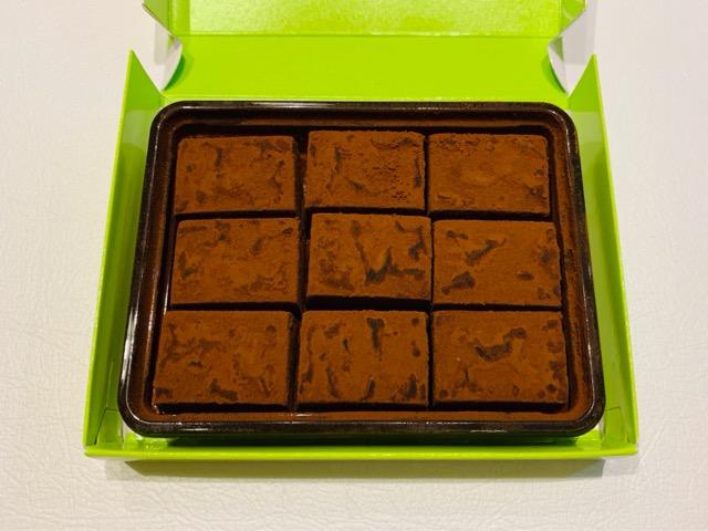 生チョコレート黒糖の中身
