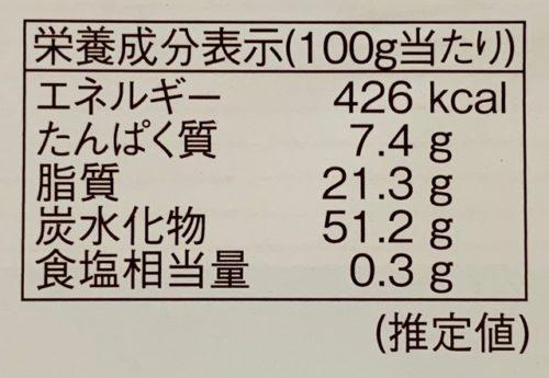 柳月 三方六 メープル カロリー