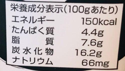 杏仁豆腐のカロリー