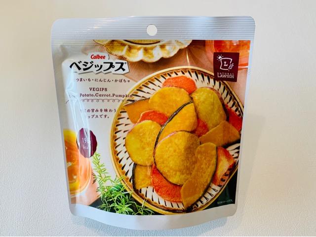 ローソン 低カロリー・ダイエットお菓子 カルビーベジップス