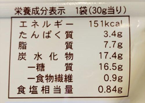 ローソン 低カロリーお菓子 明太バターラスクのカロリー