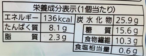 パスコ 低糖質イングリッシュマフィンブランのカロリーと糖質量