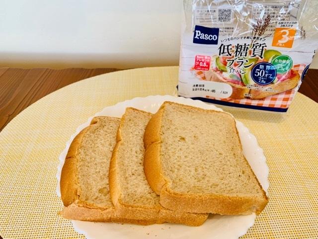 パスコ【低糖質ブラン食パン】