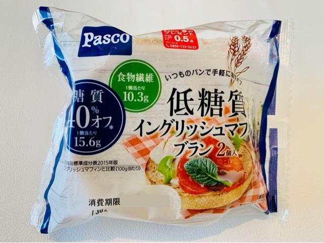 パスコ【低糖質イングリッシュマフィンブラン】