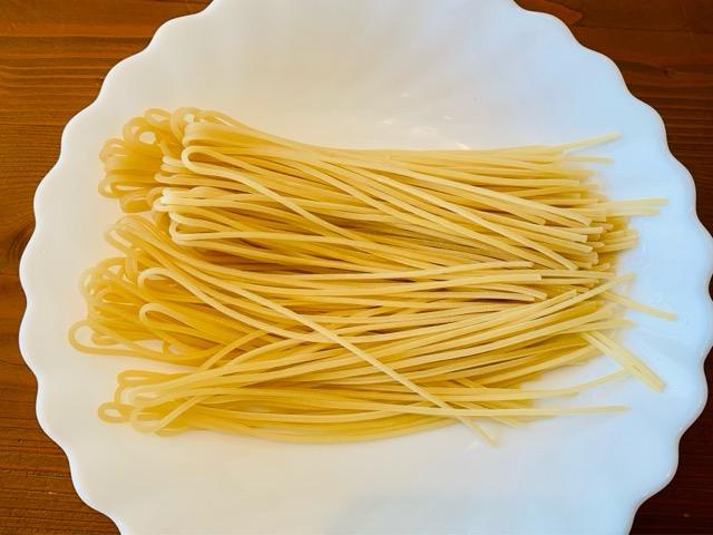 低糖質生スパゲッティの中身