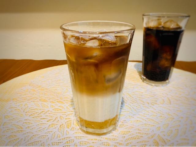 アイスコーヒー アレンジレシピ ハニーカフェオレ