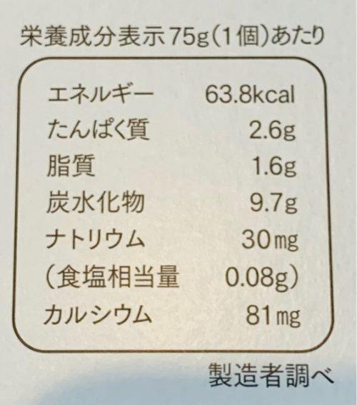 パルシステム【ヨーグルト】生乳50% カロリー