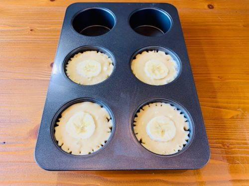 バナナマフィンの作り方7