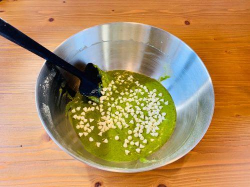抹茶ホワイトチョコマフィンの作り方4