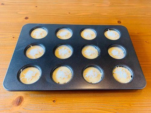 バターなし ヨーグルトマフィンの作り方5