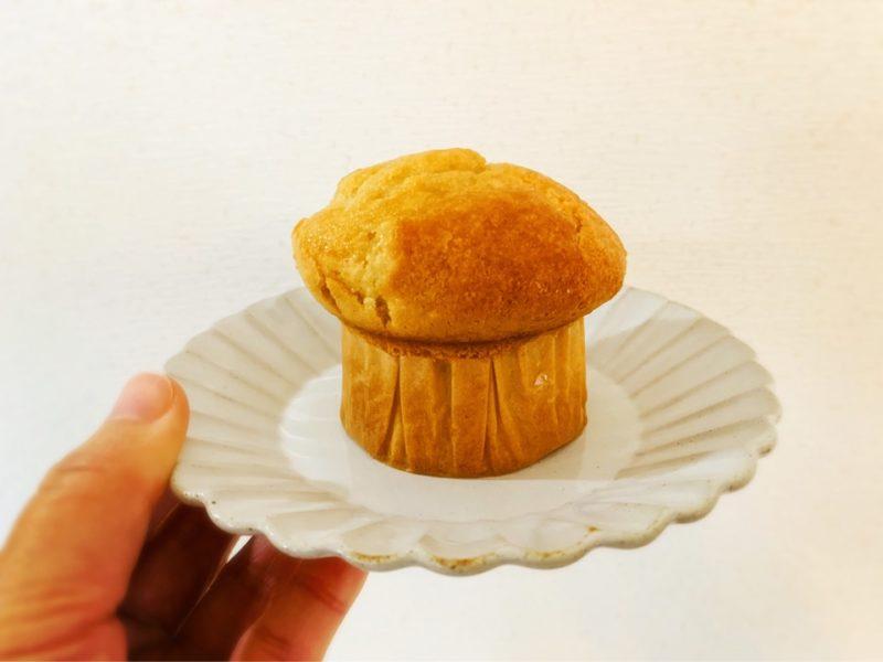 バターなし牛乳なし 基本のオイルマフィン きのこ型